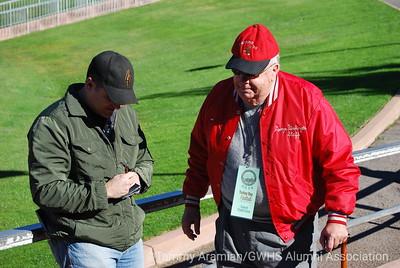 Chris Antipa '88 and former GW Principal Al Vidal