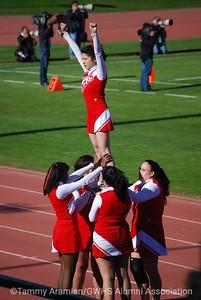 GW cheer squad