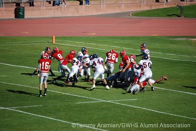 #26 Lajarie Mabrey brings it closer to the goal line