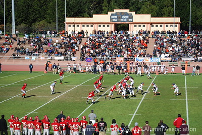 3rd quarter game action at Kezar, Bucs on offense