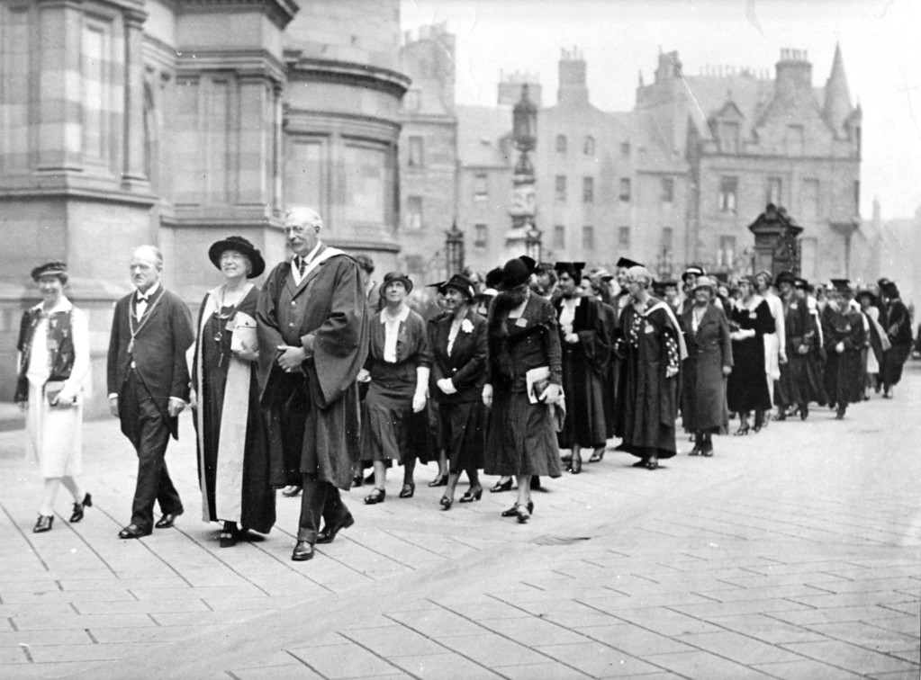 6th IFUW Conference, Edinburgh, Scotland, 1932