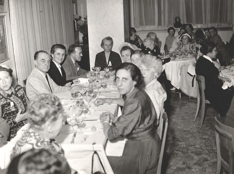34th IFUW Council - Menaggio, Italy, 1952
