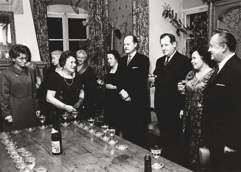 10th IFUW Conference, Zurich & Basle, 1950