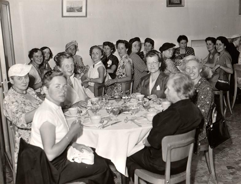 IFUW Council -  Menaggio, Italy, 1952