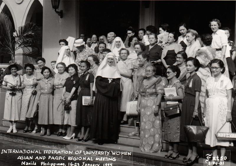 IFUW Asian and Pacific Regional Meeting - Manila, 1955