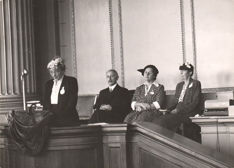 10th IFUW Conference - Zurich and Basel, Switzerland, 1950