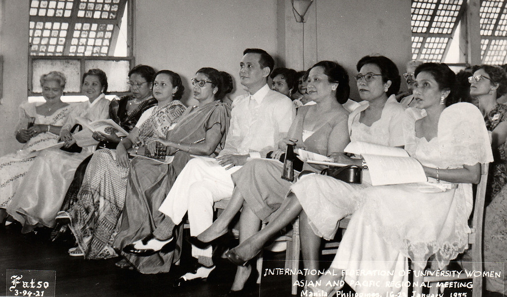 IFUW Asian and Pacific Regional Meeting - Manila, Philippines, 1955