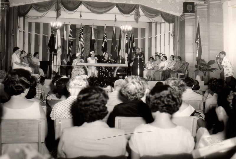 IFUW Asian and Pacific Regional Meeting - Manila, 1955