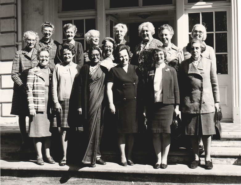 IFUW Board and Conveners 1971-1974 - Leysin, Switzerland