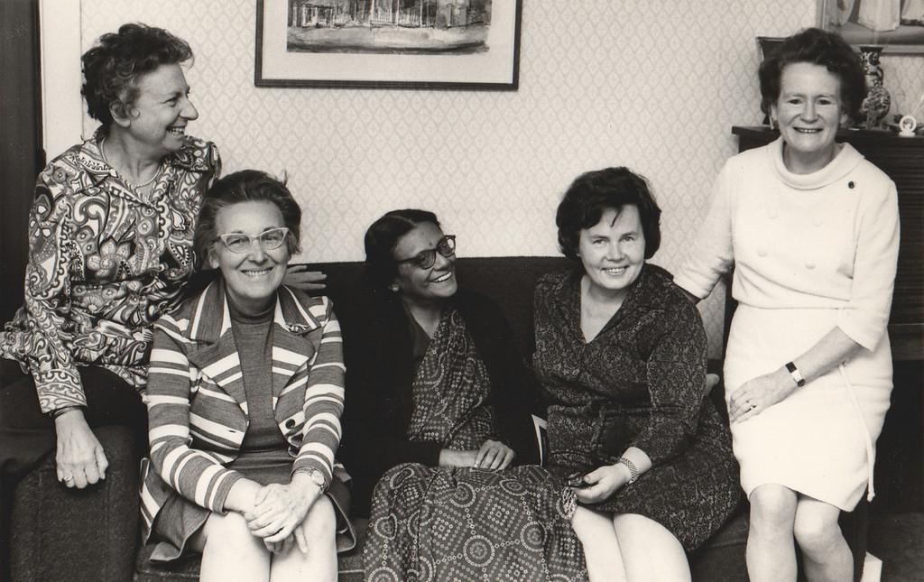 1971-1974 IFUW Board Members