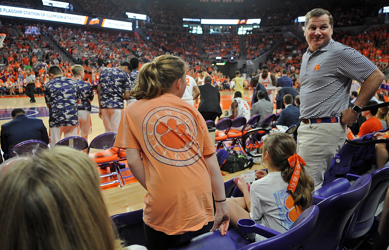 Dr. Milt Lowder and Clemson Basketball