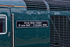 Nameplate on 43198 on the 18th May 2019, the final day of GWR mainline HST services.