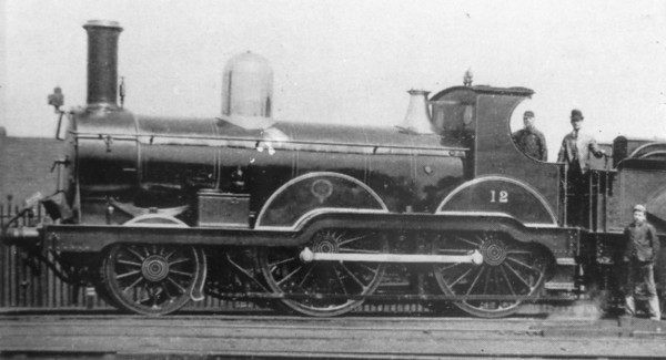 12 Joseph Armstrong 481 class 2-4-0