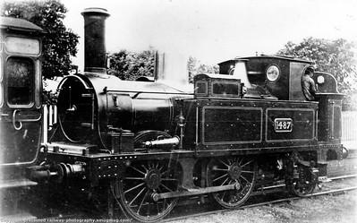 GWR Joseph Armstrong (Wolverhampton 1854 - 1864, Swindon 1864 - 1877)