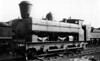 1565 with spark arrester chimney at Swindon J  Armstrong 1076 Class (originally built as 0-6-0ST) rebuilt in 1921 by the GWR