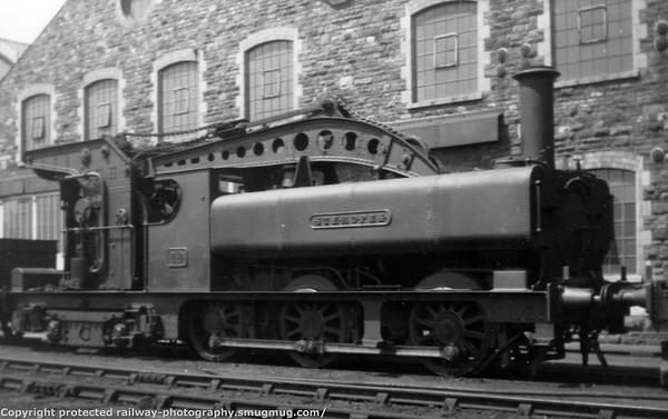 18 Steropes 0-6-4PT crane Tank Built 1901 850 class 0-6-0PT with frame extended backwards to accomadate the steam crane