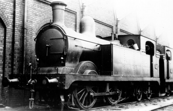 3 unknown location Barry Railway Class G 0-4-4T