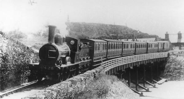 28 Barmouth Cambrian Railway 2-4-0