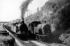 155 is passed by 38 at Cherry Orchard sidings 17th May 1952 Ree Cardiff Railway design CR-1 Class 0-6-2T