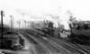 155 shunting Pengam Goods yard 13th February 1953 ex Cardiff Railway 0-6-2T built by Kitson & Son