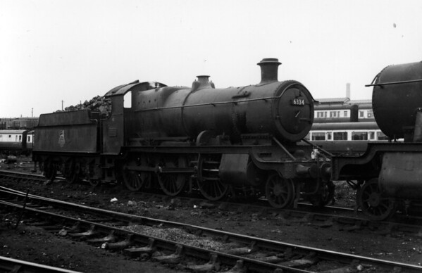 6334 Tyseley Churchward 4300 class