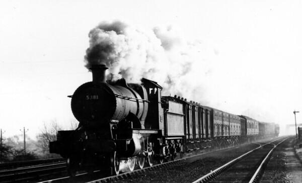 5381 Kennington Jct Churchward 4300 class