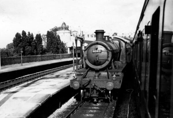 6342 Windsor 14th July 1954 Churchward 4300 class