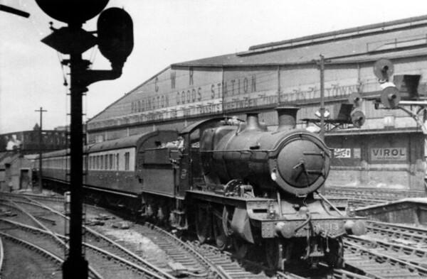 6313 Paddington2nd August 1937 Churchward 4300 class
