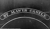 5018 St Mawes Castle nameplate
