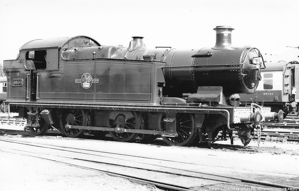 6664 Swindon works 16th June 1957