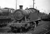 7220 Newton Abbott shed 16th April 1950 Collett 7200 class