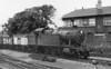 7231 passes Salisbury 'C' signal box Collett 7200 class