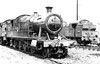 7222 Ebbw Jct shed 7th August 1961 Collett 7200 2-8-2T