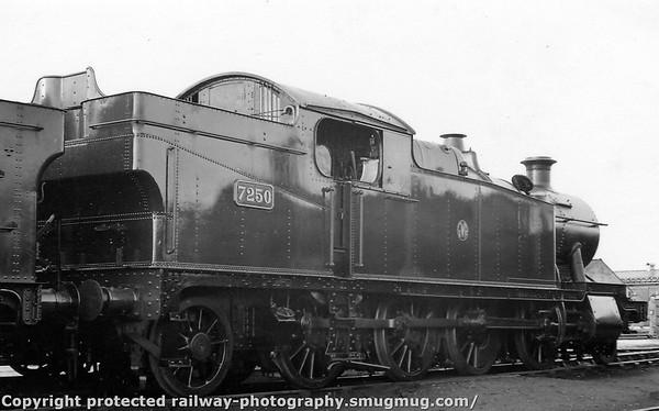 7250 Swindon 26th February 1939 Collett 7200 class