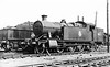 7242 Canton shed 13th September 1953 Collett 7200 2-8-2T