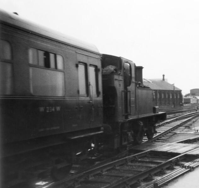 1453 Gloucester 25th August 1963 Collett 1400 class
