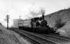 1403 leaving Bincombe tunnel 7th May 1955 Collett 1400 class