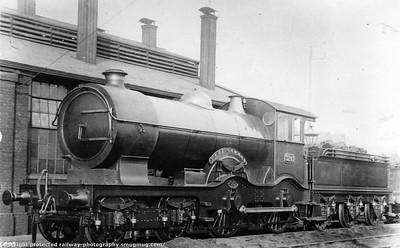 GWR 4100 Atbara+Flower Class 4-4-0