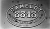 3343 Camelot nameplate Dean 3300 Bulldog Class