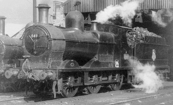 849 ex Cambrian 0-6-0 Oswestry