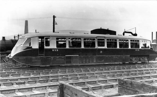 Diesel Railcar No  13
