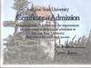 San Jose Admission Certificate
