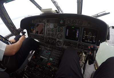 Aerospatiale Super Puma L2 off the coast of Gabon