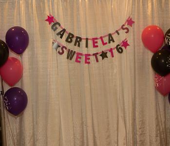 Gabriela's Sweet 16