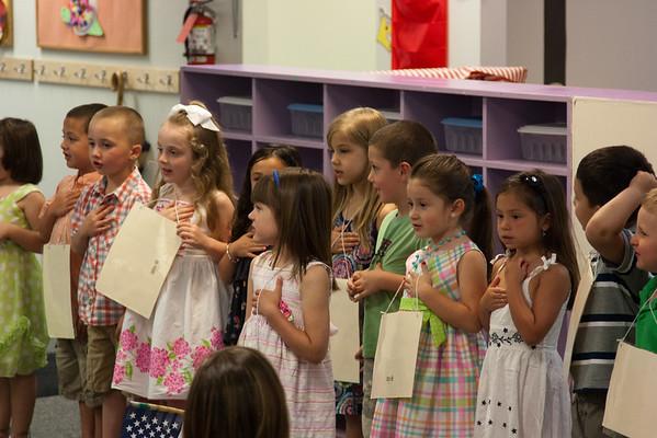 Gabriella Preschool Graduation 2012