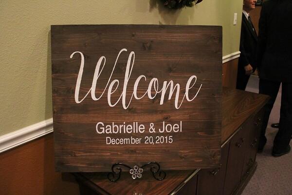 Gabrielle & Joel Dec. 20, 2015