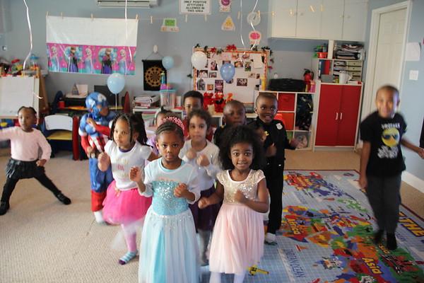 Gabrielle 4th Birthday Hosted by Princess Elsa