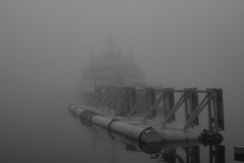 Foggy Ferry