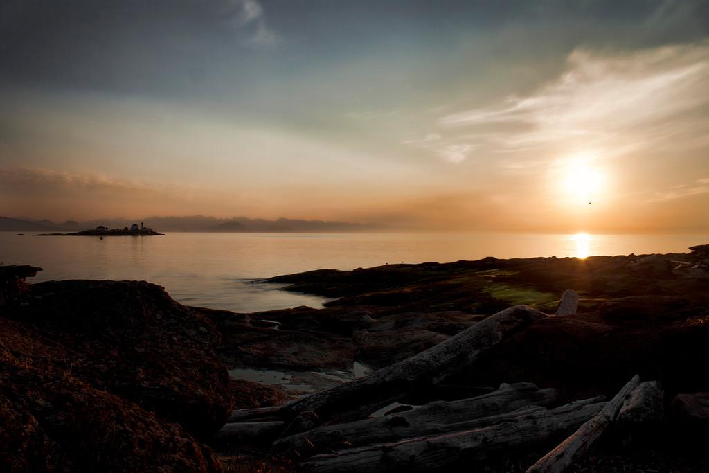 Sunrise at Orlebar Point