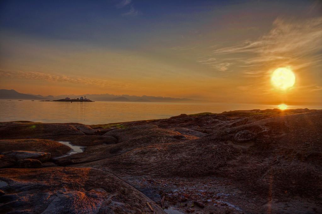 Orange Sunrise at Orlebar Point